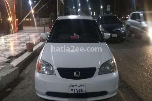 Civic Honda 2003 Suez White 2347099 Car For Sale Hatla2ee