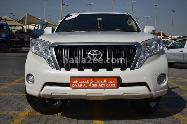 Prado Toyota أبيض