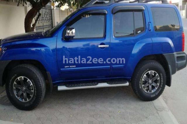 Xterra Nissan أزرق