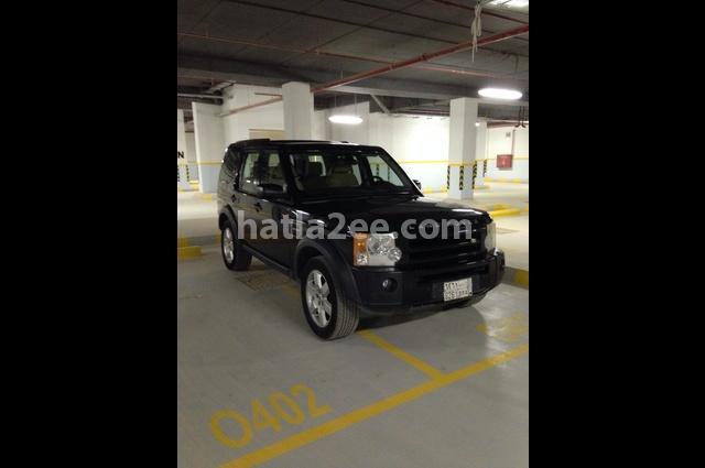 lr3 Land Rover أسود
