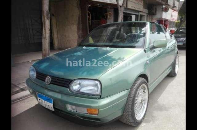 Golf Volkswagen أخضر