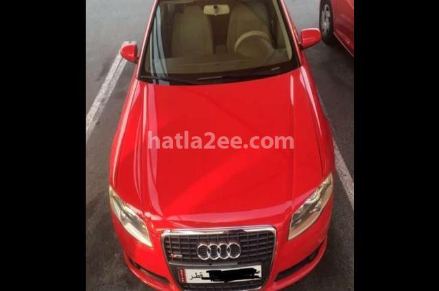 A4 Audi احمر