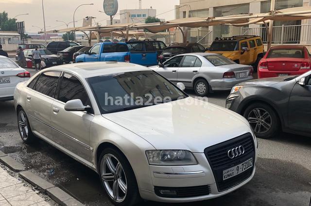 A8 Audi White
