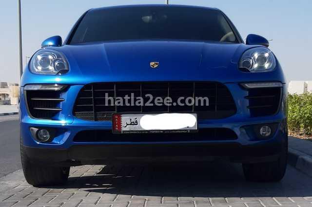 Macan Porsche أزرق