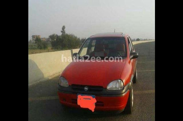 Corsa Opel Red