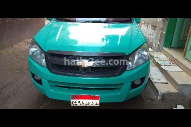 Pickup Chevrolet أخضر