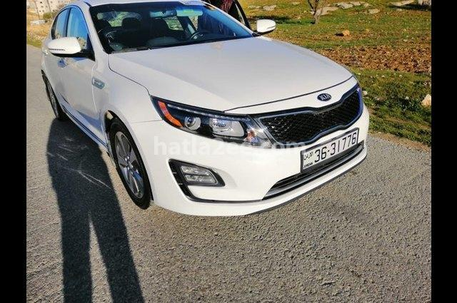 Optima Kia White