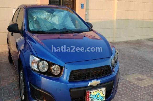 Sonic Chevrolet أزرق
