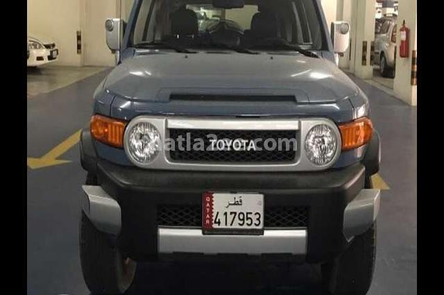 FJ Toyota Gray