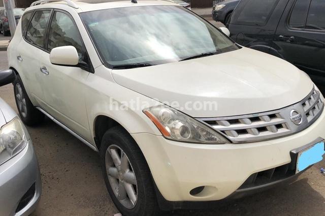 Murano Nissan أبيض