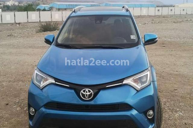 Rav 4 Toyota أزرق