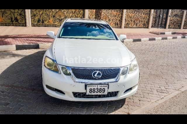 Gs Lexus أبيض