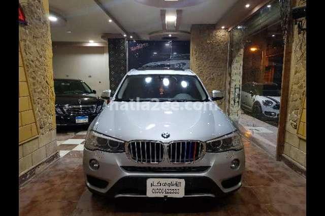 X3 BMW فضي