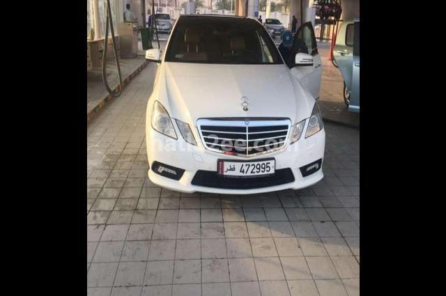 E 300 Mercedes White