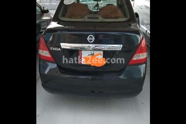 Tiida Nissan Black