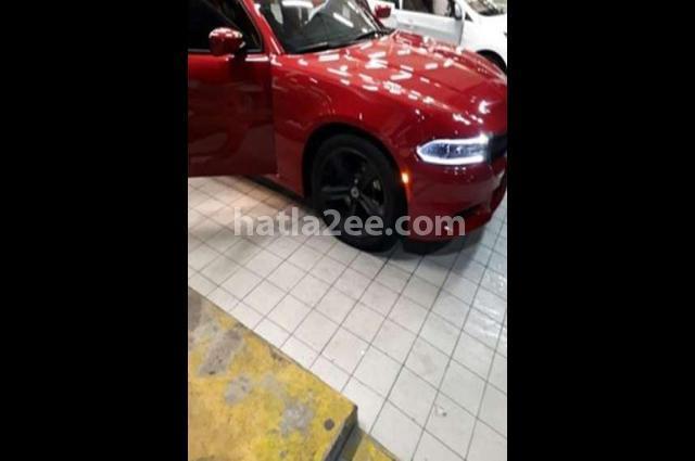 Charger Dodge احمر غامق