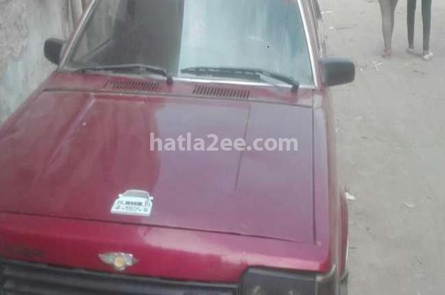 323 Mazda احمر غامق