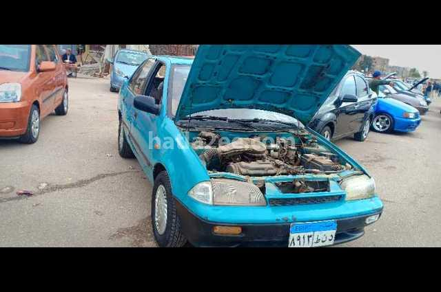 Swift Suzuki 1995 Cairo Blue 2446700 - Car for sale : Hatla2ee