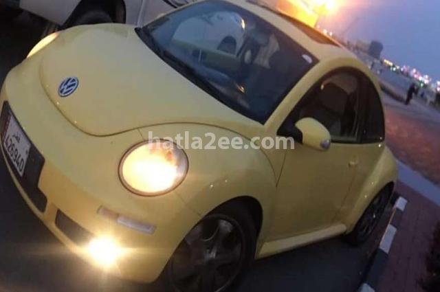 Beetle Volkswagen Yellow