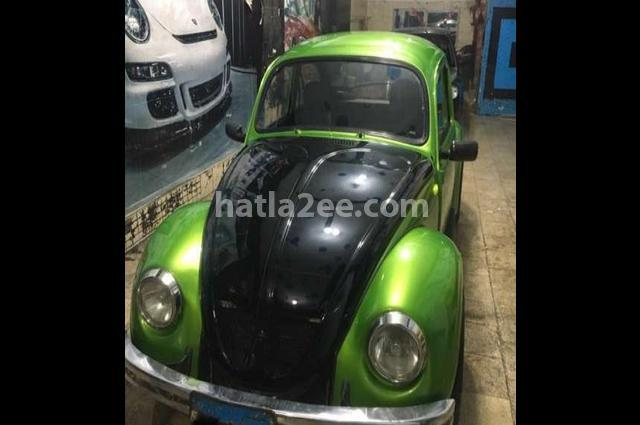 Beetle Volkswagen أخضر
