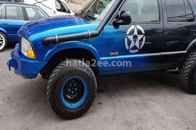 Jimmy Gmc 1998 Beirut Blue 2452331 - Car for sale : Hatla2ee