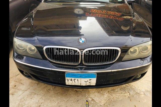 740 BMW أسود