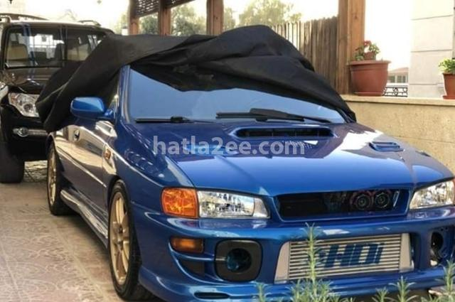 Impreza Subaru أزرق