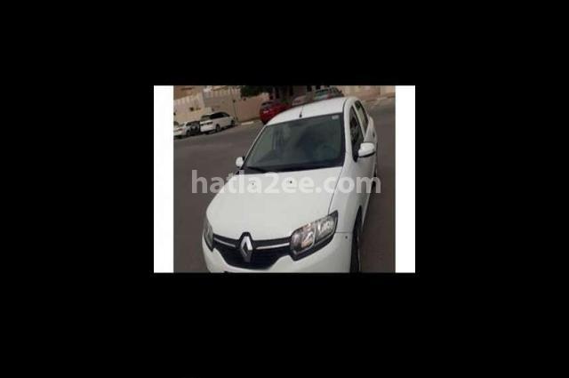 Symbol Renault White