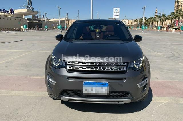 Discovery sport Land Rover رمادي