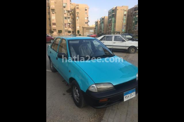 Swift Suzuki أخضر