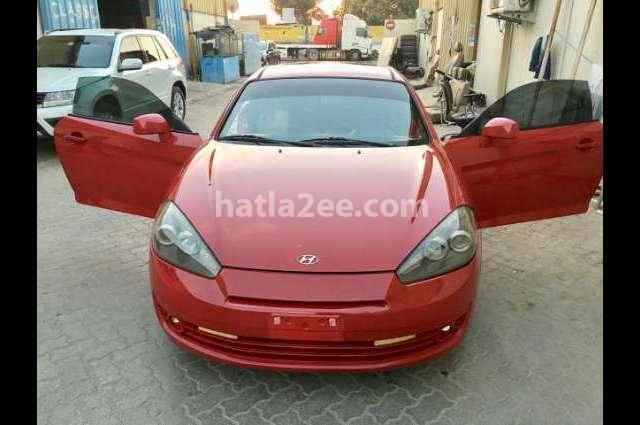 Coupe Hyundai احمر