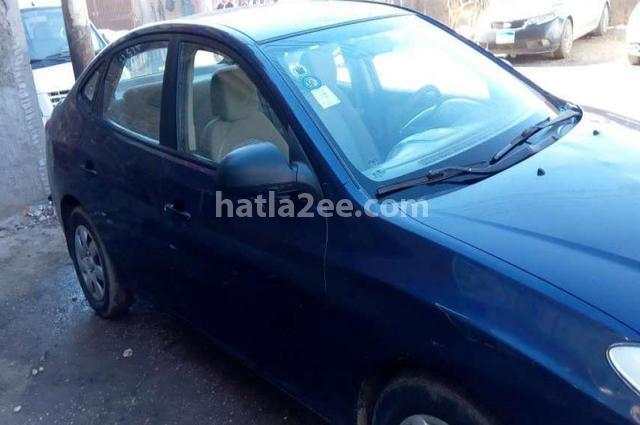 Elantra HD Hyundai Dark blue