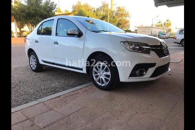 Symbol Renault أبيض