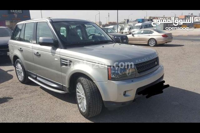 Sport Land Rover ذهبي