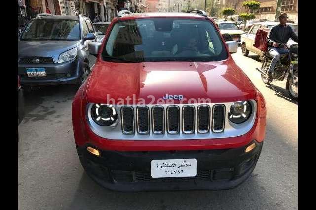 Renegade Jeep احمر