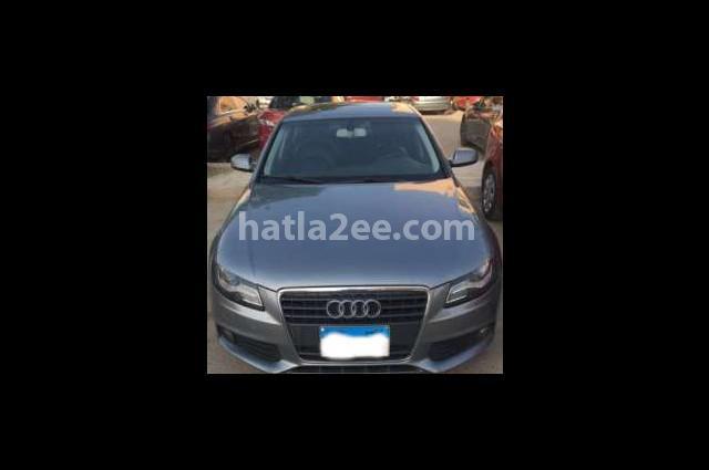 A4 Audi Silver