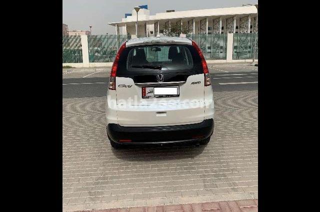 Crv Honda 2014 Doha White 2489912 Car For Sale Hatla2ee