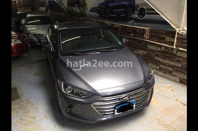 Elantra AD Hyundai رمادي