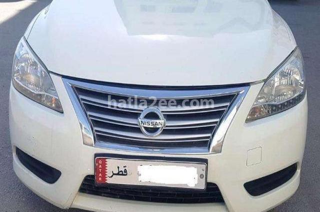 Sentra Nissan 2014 Doha White 2495812 - Car for sale ...