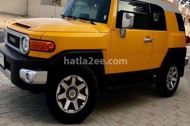 FJ Toyota Yellow