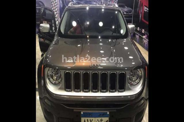 Renegade Jeep رمادي