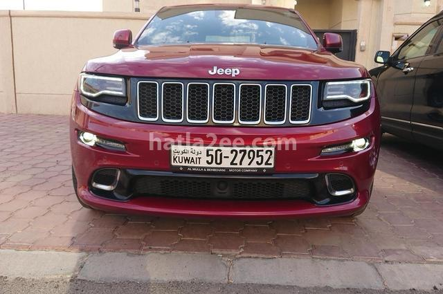 Grand Cherokee Jeep احمر غامق