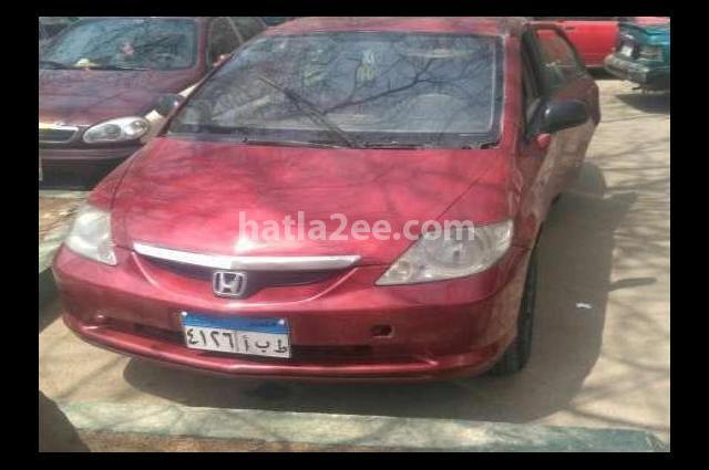 City Honda احمر غامق