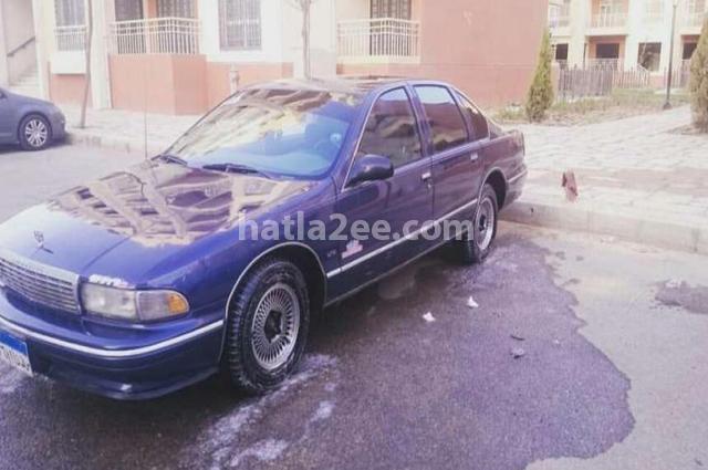 Caprice Chevrolet الأزرق الداكن