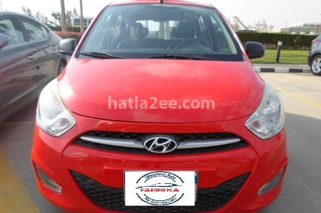 I10 Hyundai احمر