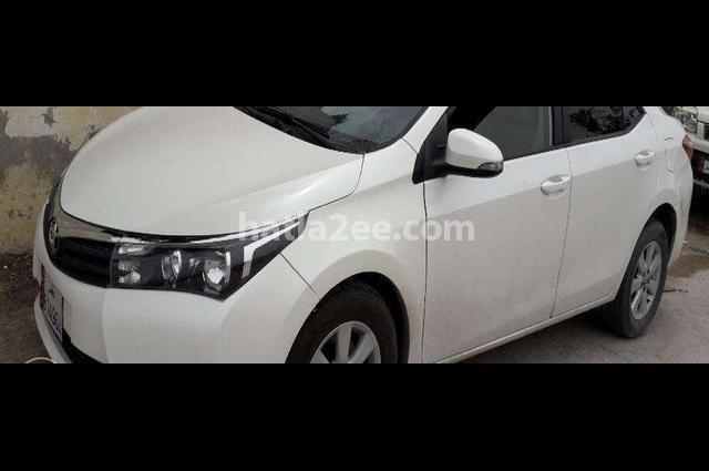 Corolla Toyota 2014 Doha White 2523016 Car For Sale Hatla2ee