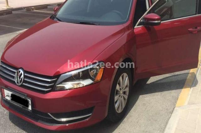 Passat Volkswagen احمر