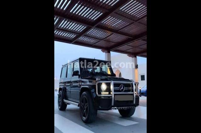 G Class Mercedes أسود