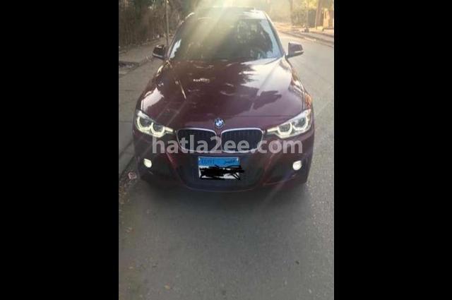 320 BMW احمر غامق