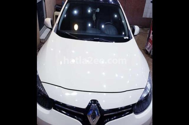 Fluence Renault أبيض